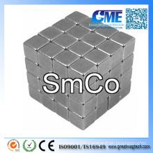 "F1/4""X1/4""X1/4"" Cubes SmCo Magnet"