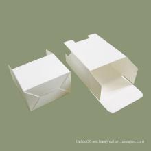 Embalaje de caja de tarjeta blanca de impresión personalizada