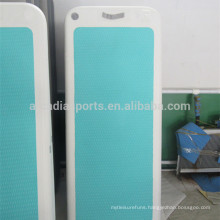 New Design Floating Gym Mat With Deck Pad Inflatable Yoga Fitness Mats