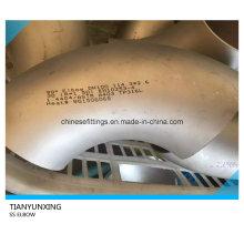 90deg En10253-4 1.4404 3D Stainless Steel Elbows