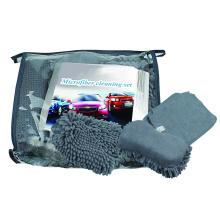 Juego de limpieza de automóviles / kit de cuidado de automóviles de microfibra / juego de lavado de automóviles