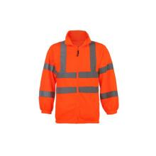 Sudadera con capucha reflectante con capucha de alta visibilidad 100% lana de poliéster