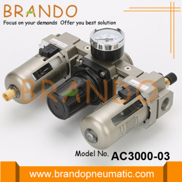 AC3000-03 Unit Pelumas Regulator Filter Udara Tipe SMC