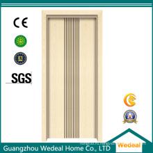 Деревянная дверь из ПВХ высокого качества для проекта (WDHO71)
