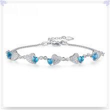 Кристалл Браслет Мода Ювелирные изделия стерлингового серебра 925 (SL0092)