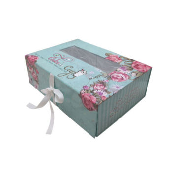 Partihandel Custom Luxury Flat Folding Packaging Paper Box