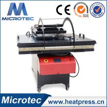 Machine de presse de chaleur de grand format avec lit coulissant et le meilleur vendeur en Europe