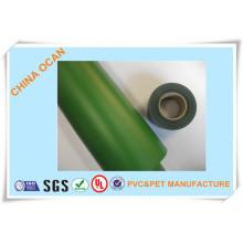 Film PVC vert foncé en plastique pour feuilles d'arbre de Noël