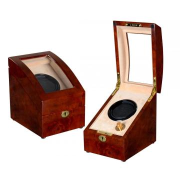 Single Cream Velvet Watch Winder
