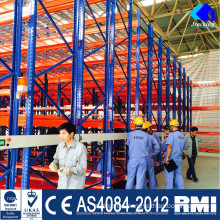 Automatic Racks of 100% Pallet Selectivenss for Cold Storage