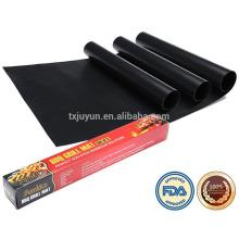 Esteiras de churrasqueira, conjunto de 3 non-stick churrasco churrasco folhas, 15.75 x 13 polegadas