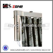 220v motorizado motor teledirigido cortina curvada eléctrica / carril de la cortina