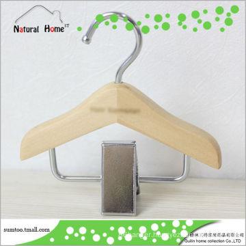 Grade A Lotus wooden pet clothes hanger/snack display rack