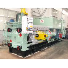 Máquina de extrusión continua para perfilado de productos de aluminio