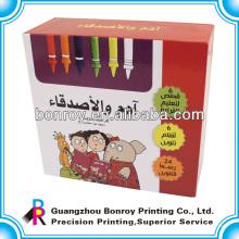 Embalaje de cartón reutilizable y de lujo a color