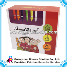 Reusable and luxury colour pen cardboard packaging
