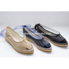 Lace-up nova chegada moda sapatos de lona 2015