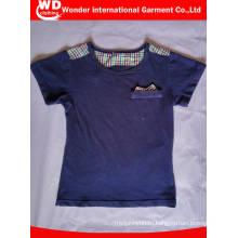 Изготовленные на заказ дети хлопок Производство одежды в Китае футболки детские Т
