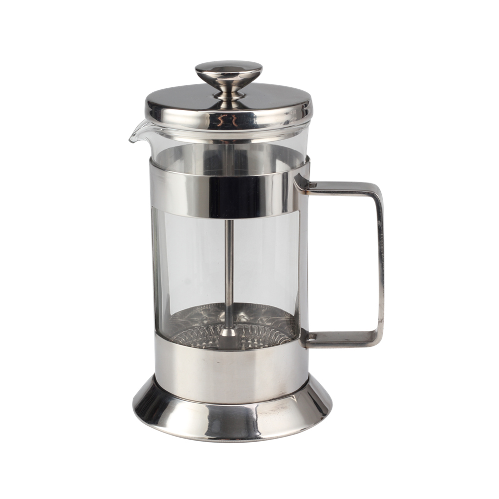 Silver Glass French Press