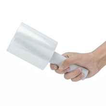 Factory Direct Sell Packaging Pallet hand-held LLDPE Handle Mini Cling Stretch Film for Protection