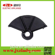 Garden tool parts Big Black Shield for Curved pole grass trimmer