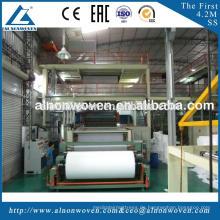 Heißer Verkauf AL-1600 S 1600mm pp. Nicht gesponnenes Gewebe, das Maschine mit niedrigem Preis herstellt