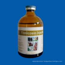 GMP Certified 10%, 25% & 30% Tilmicosin Phosphate Injection