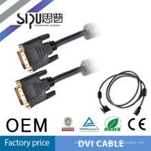SIPU Scart / rs232-Kabel, Bnc Kabel auf dvi Kabel 24 + 1