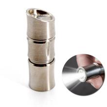 150 люмен мини перезаряжаемый светодиодный титановый брелок-фонарик