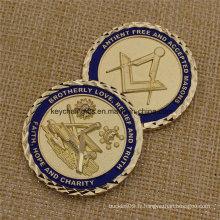 Monnaies de souvenir mémoires en métal souvenirs personnalisés
