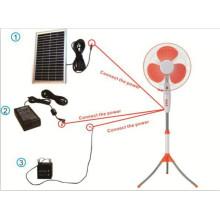 Unitedstar 16 ′ ′ DC / Recarregável / Ventilador Solar Stand (USDC - 425)