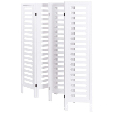 White Wood restaurant room divider 6 panels