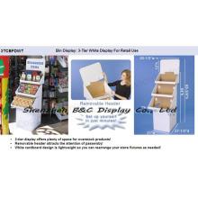 Бумажная стойка дисплея настила товар с высокого качества (B и C-A065)