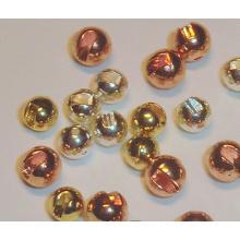 Schwarz, Gold, Kupferfarben Tungsten geschlitzte Perlen Fly Binden