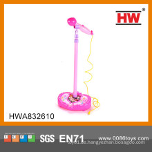 Heißer Verkaufs-B / O Spielzeug-Babymikrofon preiswerter Plastikmusikinstrumentspielzeug