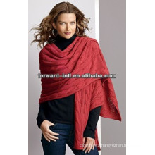 ladies silk/wool/cotton/modal blended cashmere scarf