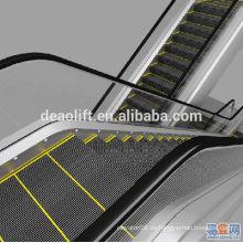 Escaleras mecánicas del centro comercial de 30 grados con pasos de anchura de 600 mm