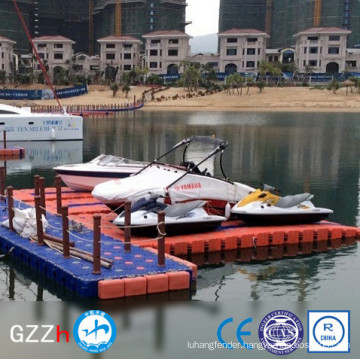 UV protected floating cubes dock jet ski with competitive price