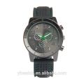Fábrica Guangdong Oem Luxury Wrist Men Mercado de los EE. UU. Relojes Negros