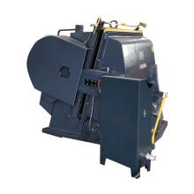Semi-automatic paper creasing die-cutter machine