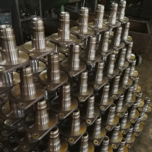 Stainless steel free forging shaft parts