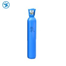 High quality safety portable 10 liter oxygen cylinder with high pressure for medical use