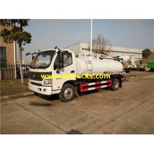 Foton 4000L Septic Vacuum Tanker Trucks