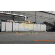 New Type Coal Briquette Mesh Belt Dryer with Large Capacity