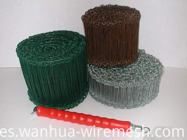 17gauge galvanized double loop tie wire
