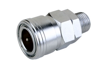 Mass Flow Quick Coupler Male Thread