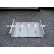prepainted galvanized clip lock steel roofing sheet