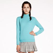 Женщин экипажа шеи Кашемировый свитер оптом китайской фабрики
