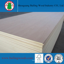 Natural Red Beech Veneer MDF for High Quality Furniture