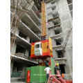 China 2t Double Cage SC200/200 Building Construction Elevator Lifter